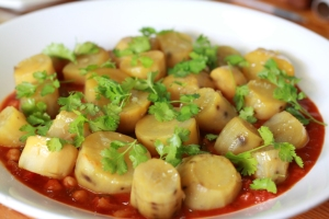 No 4. chickpea spinac and sweet potato