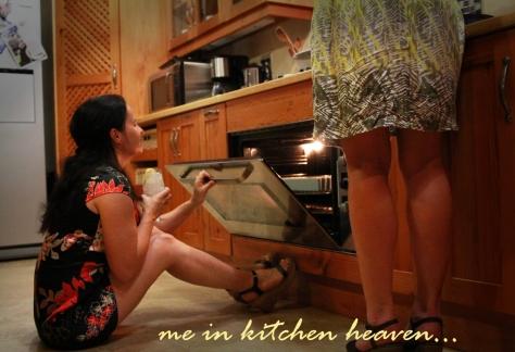 Me in kitchen heaven...