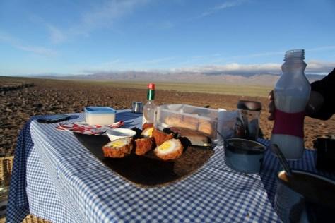Our Tankwa picnic table..