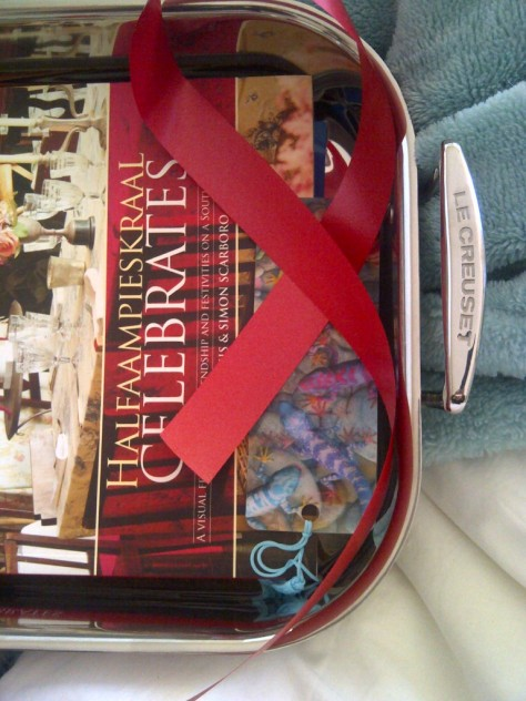 My Mothersday gift and my new Cookbook, a beautiful book...