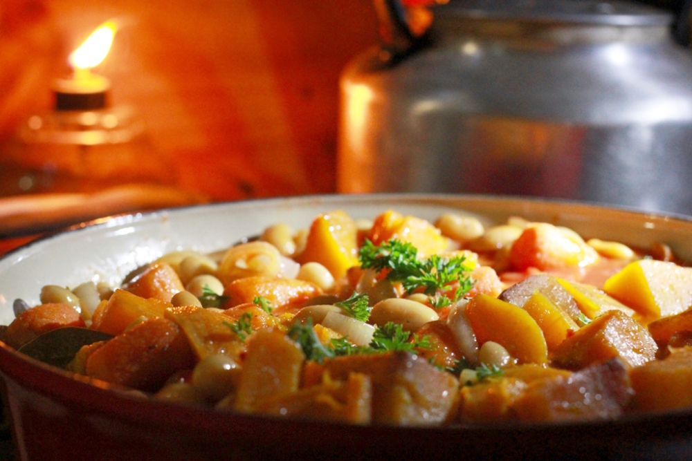 Bean and Butternut winter warmer, in the magical Tankwa Karoo (6/6)