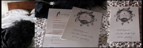 Beautiful welcome letters and dinner menu on our bed.... how perfect can this be...