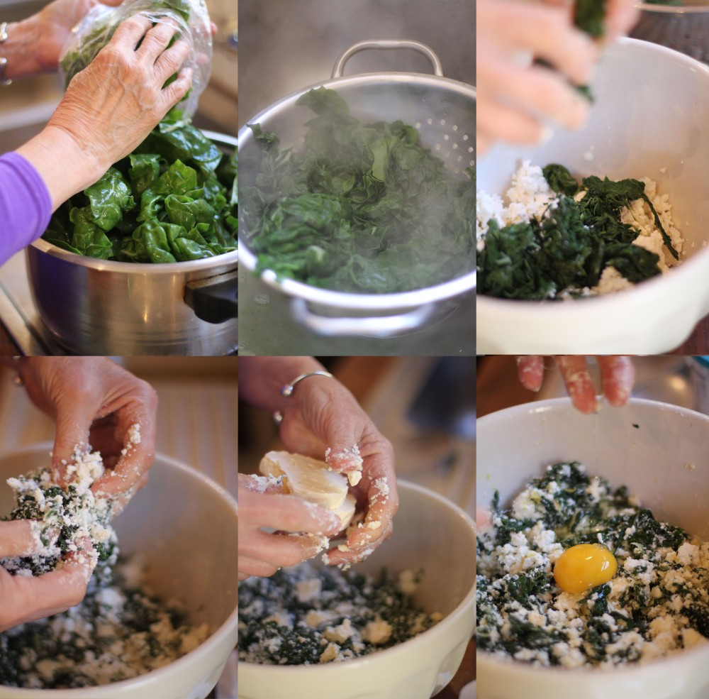 Spinach and ricotta bake at Somerset Gift Farm Getaway... Part 2 of 3 (1/6)