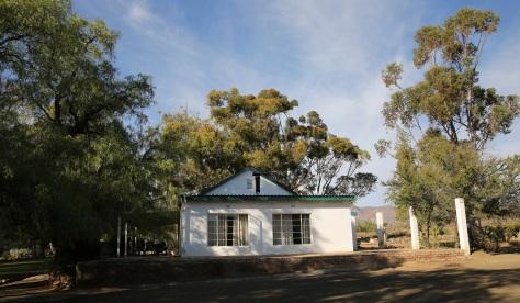Rietfontein Private Nature Reserve main house...