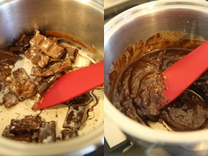melt chocolate